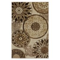 Mohawk® Inspired India 5-Foot x 8-Foot Area Rug in Neutral