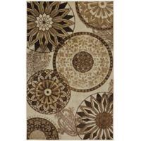 Mohawk® Inspired India 7-Foot 6-Inch x 10-Foot Area Rug in Neutral