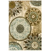 Mohawk® Inspired India 7-Foot 6-Inch x 10-Foot Light Multicolor Area Rug