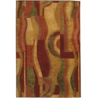 Mohawk® Picasso 3-Foot 9-Inch x 5-Foot 8-Inch Area Rug in Wine