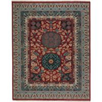 Capel Rugs Plantation Journet 5-Foot 6-Inch x 8-Foot 6-Inch Area Rug in Red Multi