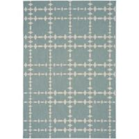 Capel Rugs COCOCOZY Elsinore Tower Court 3-Foot 11-Inch x 5-Foot 6-Inch Area Rug in Blue