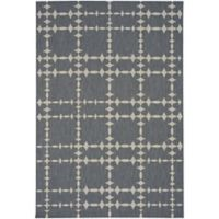 Capel Rugs COCOCOZY Elsinore Tower Court 3-Foot 11-Inch x 5-Foot 6-Inch Area Rug in Coal