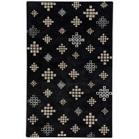 Capel Rugs COCOCOZY Geneva 8-Foot x 10-Foot Area Rug in Ebony/Beige