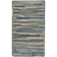 Capel Rugs Habitat 1-Foot 8-Inch x 2-Foot 6-Inch Accent Rug in Blue