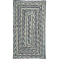 Capel Rugs Tooele Braided 8-Foot x 11-Foot Area Rug in Blue Jean