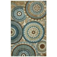 Mohawk Forest Suzani 5-Foot x 7-Foot Multicolor Area Rug