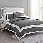 VCNY Home Avondale King Duvet Cover Set in Grey