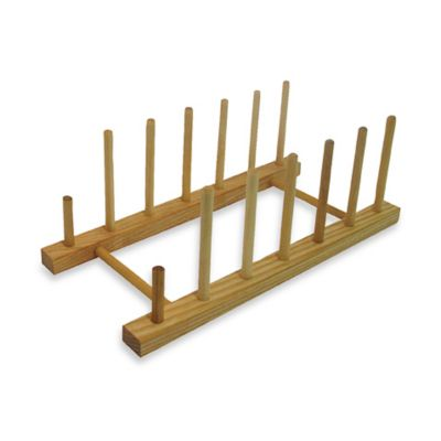 Flat Display Plate Stand  sc 1 st  Bed Bath u0026 Beyond & Buy Wood Plate Stand from Bed Bath u0026 Beyond