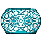 Le Creuset® Deluxe 10.5-Inch x 6.75-Inch Oval Trivet in Caribbean
