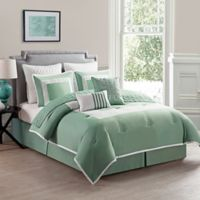 VCNY Home Marion Twin Duvet Cover Set in Aqua