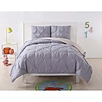 Laura Hart Kids Pleated Twin XL Duvet Cover Set in Lavender/Blush