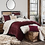 UGG® Hudson Reversible 3-Piece Full/Queen Comforter Set in Garnet