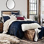 UGG® Hudson Reversible 3-Piece King Comforter Set in Navy