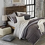 UGG® Hudson Reversible 3-Piece King Comforter Set in Grey