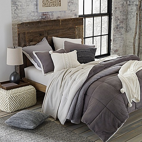 Ugg 174 Hudson Reversible Comforter Set Bed Bath Amp Beyond