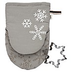 ED Ellen DeGeneres Snowflake 2-Piece Mini Mitt and Cookie Cutter Set