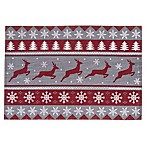 Fair Isle Stitch Holiday Placemat
