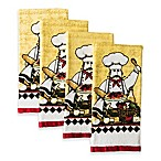 Design Imports Chef Essential Kitchen Towels (Set of 4)