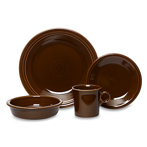 Fiesta® Chocolate 4-Piece Place Setting  sc 1 st  Bed Bath u0026 Beyond & Fiesta® Chocolate 4-Piece Place Setting - Bed Bath u0026 Beyond