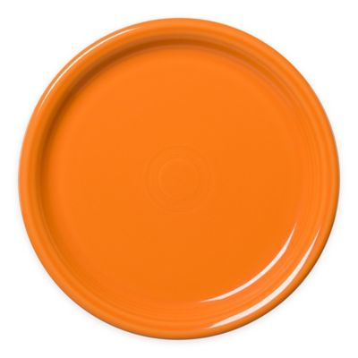 Fiesta® Bistro Dinner Plate in Tangerine  sc 1 st  Bed Bath \u0026 Beyond & Buy Orange Dinner Plates from Bed Bath \u0026 Beyond