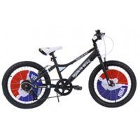 NBA Brooklyn Nets 20-Inch Kids Mountain Bike in Black