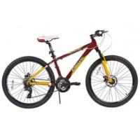NBA Cleveland Cavaliers 26-Inch 380mm Kids Mountain Bike with Disc Brakes