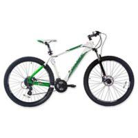 NBA Boston Celtics 29-Inch 380mm Mountain Bike with Disc Brakes in White/Green