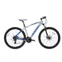 NBA Orlando Magic 29-Inch 380mm Mountain Bike with Disc Brakes in White/Blue