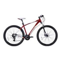 NBA Miami Heat 29-Inch 380mm Mountain Bike with Disc Brakes in Red/White