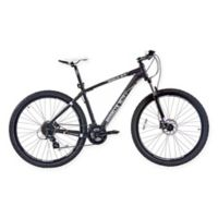 NBA Brooklyn Nets 29-Inch 425mm Mountain Bike with Disc Brakes in Black