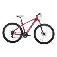 NBA Chicago Bulls 29-Inch 425mm Mountain Bike with Disc Brakes in Red/Black