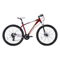 NBA Miami Heat 29-Inch 425mm Mountain Bike with Disc Brakes in Red/White