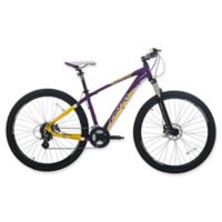NBA Los Angeles Lakers 29-Inch 475mm Mountain Bike with Disc Brakes in Yellow/Purple