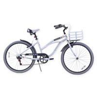 NBA 26-Inch 7-Speed Brooklyn Nets Beach Cruiser Bicycle