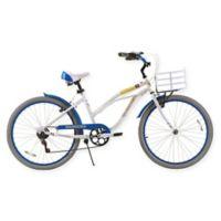 NBA 26-Inch 7-Speed Golden State Warriors Beach Cruiser Bicycle