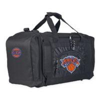 "NBA New York Knicks ""Roadblock"" Duffel Bag by The Northwest in Black"