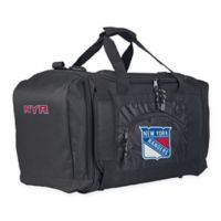 "NHL New York Rangers ""Roadblock"" Duffel Bag by The Northwest in Black"
