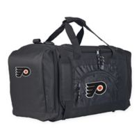 "NHL Philadelphia Flyers ""Roadblock"" Duffel Bag by The Northwest in Black"