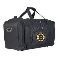 "NHL Boston Bruins ""Roadblock"" Duffel Bag by The Northwest in Black"