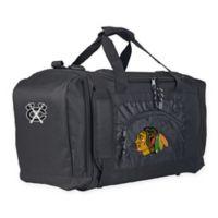 "NHL Chicago Blackhawks ""Roadblock"" Duffel Bag by The Northwest in Black"