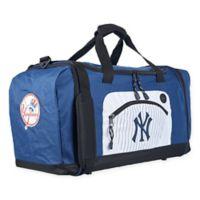 "MLB New York Yankees ""Roadblock"" Duffel Bag by The Northwest in Black"