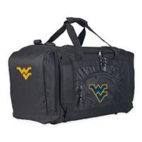 """West Virginia University """"Roadblock"""" Duffel Bag by The Northwest in Black"""