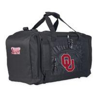 "University of Oklahoma ""Roadblock"" Duffel Bag by The Northwest in Black"