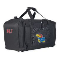 """University of Kansas """"Roadblock"""" Duffel Bag by The Northwest in Black"""