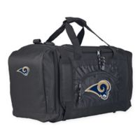 "NFL Los Angeles Rams ""Roadblock"" Duffel Bag by The Northwest in Black"