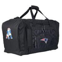 "NFL New England Patriots ""Roadblock"" Duffel Bag by The Northwest in Black"
