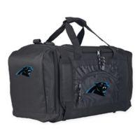 "NFL Carolina Panthers ""Roadblock"" Duffel Bag by The Northwest in Black"