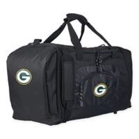 "NFL Green Bay Packers ""Roadblock"" Duffel Bag by The Northwest in Black"