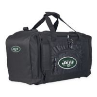 "NFL New York Jets ""Roadblock"" Duffel Bag by The Northwest in Black"